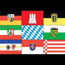 Flaggen Bundesländer Deutschland 20x30cm