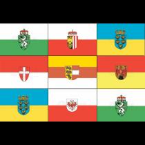 Flaggen Bundesländer Öosterreich 20x30cm