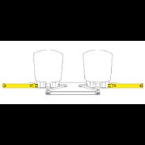 SeaStar Außenbord Zylinder Seitenmontage