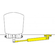 SeaStar Außenbord Zylinder Spiegelmontage