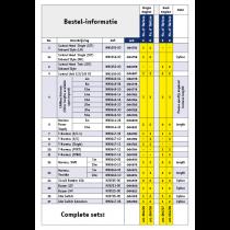 "KE-5+ Elektronische Motorbedienung für Innenborder ""De Luxe"" -SATZ-"