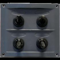 allpa spritzwasserdicht Schalttafel 12V, mit 15A Sicherungen