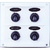 allpa Spritzwasserdicht schalttafel 12V mit 15A Sicherungen