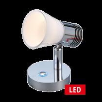 LED Wand-Leselampe dimmbar