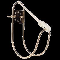 NIRO Rettungsringhalterung für montage auf Reling ( Ø25mm ) oder Trennwand