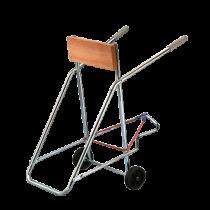 Aussenbordmotor-Trag-Gestell fahrbar für Aussenborder ( max. 50kg ) ( zusammenklappbar )
