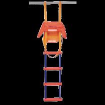 Nylon Hilfsleiter mit 5-Stufen
