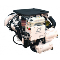 Hyundai Schiffsdiesel U125, Turbolader mit Ladeluftkühler & Wärmetauscher