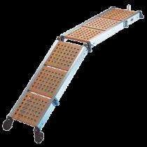Gangway aus Holz, klappbar