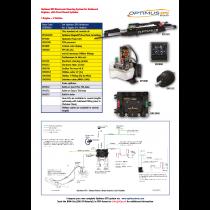 SeaStar Satz Optimus EPS Outboard 1 Motor – 1 Steuerstand