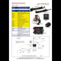 SeaStar Satz Optimus EPS Sterndrive 1 Motor – 1 Steuerstand