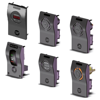 allpa Modulare Einzel wirkende Mini-schalttafel, 12V